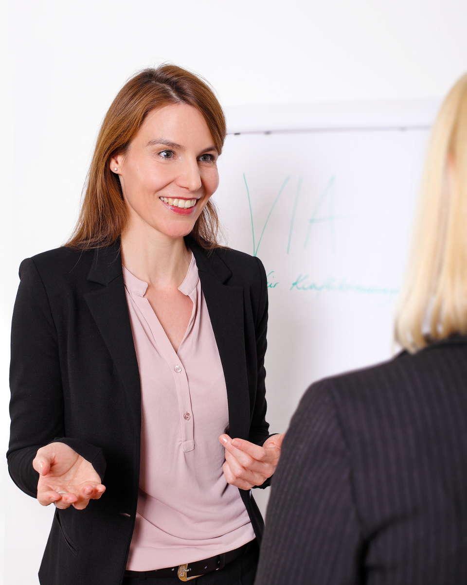 Coaching für Anwältinnen/Juristinnen
